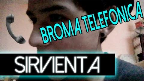 Broma Telefonica A Sirvienta Caliente Broma Sale Mal