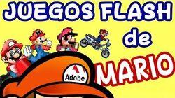 Juegos Flash de Mario del 2008 - 2012