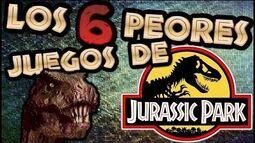 Los 6 Peores Juegos de Jurassic Park Falkrum Tales
