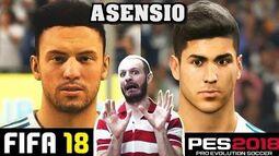 ¡¡¡UN CIEGO HARÍA MEJOR LAS CARAS EN FIFA 18!!! - Sasel - PES 2018 - Faces - Español