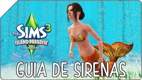 Los Sims 3 SIRENAS Aventura en la Isla Como crear sirenas y conocerlas mejor