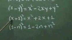 Binomio al cuadrado - ejemplo 01
