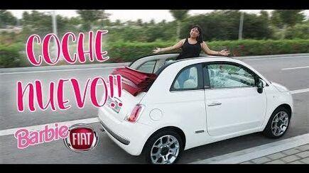 ESTE ES MI AUTO NUEVO!! FIAT CAR TOUR - BARBIE FIAT LOUNGE Aracelli Vlogs