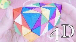 ESTO es un Cubo de RUBIK en CUATRO Dimensiones!