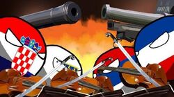 Polandball animation - A war orchestra