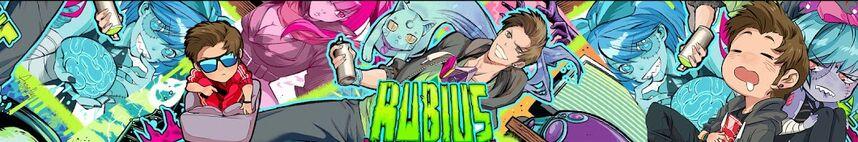 Banner rubius