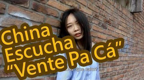 """CHINA entiende MAL letra de """"VENTE PA' CA"""" ⭐ Eva Chinita"""