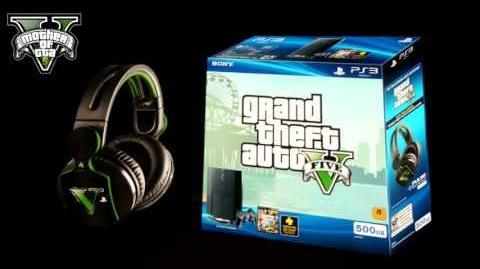 Edicion Especial de GTA V para PS3 Exclusivo de SONY