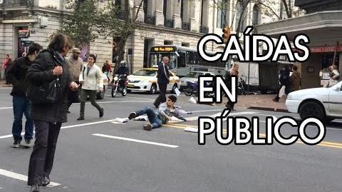 CAIDAS EN PÚBLICO