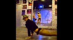 My pole dance