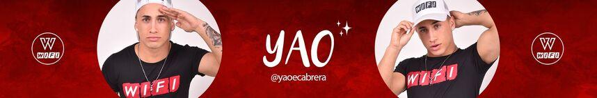YouTube Banner de Yao Cabrera 2019