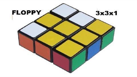 Como resolver el ''Floppy Cube''- (3x3x1)