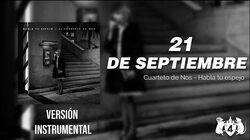 El Cuarteto de Nos - 21 de septiembre ( Versión Instrumental Karaoke )-0