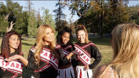 Cheerleading Tryouts! Lele Pons
