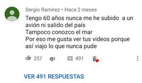 Comentario Sergio Ramirez