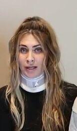 Lizy después de la agresión