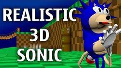 Realistic 3D Sonic