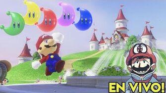 🔴 Recolectando MUCHAS Energilunas en Super Mario Odyssey ¡EN VIVO! - Pepe el Mago Juega