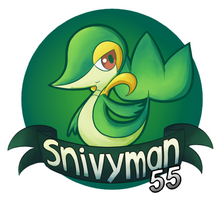 Snivyman55 logo