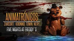 ANIMATRÓNICOS RAP Five Nights at Freddy's ZARCORT-KRONNO-NERY-ITOWN - FNAF