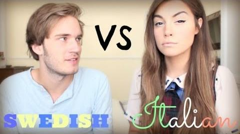 """Language Challenge"" - Italian VS Swedish"