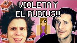 VIOLETA Y EL RUBIUS MINECRAFT
