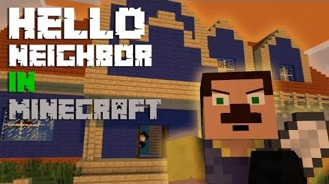 Hello Neighbor in Minecraft - Minecraft Animation