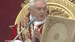Benedict XVI Peace for the world , egoism will not prevail