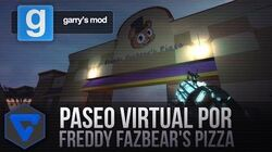 Paseo Virtual Por Freddy Fazbear'S Pizza - Five Nights At Freddy'S Real Pizzeria Gmod