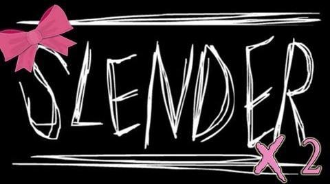 SLENDER 2 girls 1 slender? - Let's play en español!