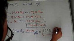 Estequiometría Conversión entre moles y gramos