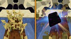 Minecraft pero TODO da un ITEM ALEATORIO