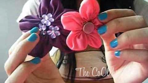 Flores de tela, super fácil! )