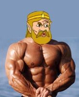 King Harkinian muscle AAAAAAAARGGGG!