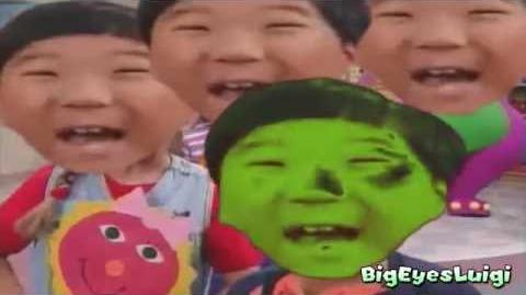 YTP Retarded Barney teaches kids innapropriate stuff