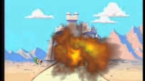 Youtube Poop Mario's Head Vs. Wario's Head Vs