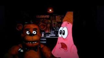 YTP Spoongeblib and Patrock are Night Guards at Freddy Fazbears Pizza 1