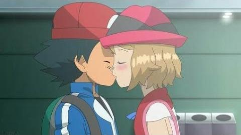 Ash & Serena Kiss Scene Full HD(Uncensored)