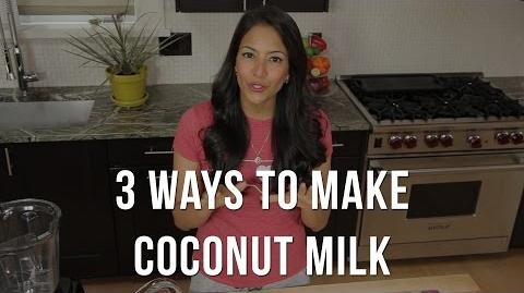 3 Ways To Make Coconut Milk (Without cracking open a coconut)