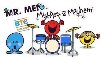 Gaming fun with Mr Men - Mishaps & Mayhem