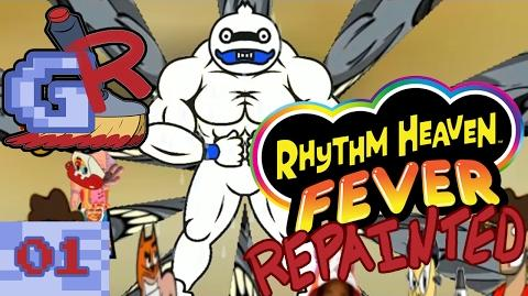 Andy Rhythm Heaven Fever Repainted (Part 1)