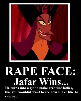 Jafar rape face by miasmahex-d3bodfe
