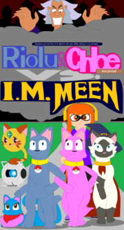 Riolu and chloe and friends vs i m meen by bluecatriolu-dbgb061