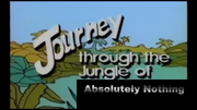 Journey through the Jungle of Absolutely Nothing