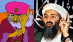 Gwonam and Osama Bin Laden