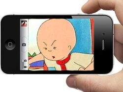 Ytp caillou loses his iphone thumbnail