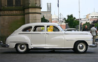 The King and his 1946 DeSoto