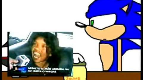 YouTube Poop BR Sonic é vítima de um poop