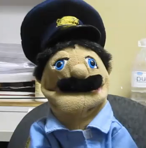Skippy Shorts Cop