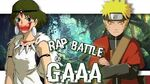 Naruto VS Princesse Mononoké Rap Battle of GAAA 8